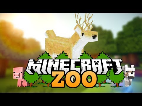 das rehgehege wie baut man einen zoo in minecraft. Black Bedroom Furniture Sets. Home Design Ideas