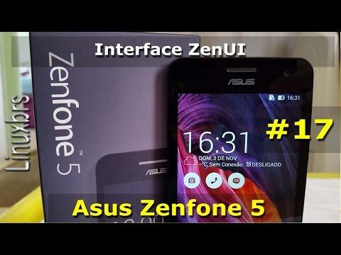 Asus Zenfone 5 - Interface ZenUI - Recursos - Português