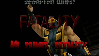 Mi primer fatality de Scorpion en Mortal Kombat unchained