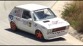 7o rally sprint δωδώνης 2014 yugo zastava incar