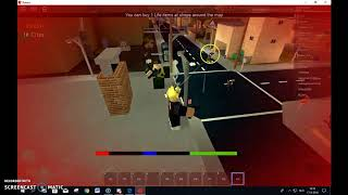 Roblox: The streets Glitch!! *shoot 1000+ bullets!*
