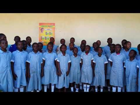 Shaddy singing East African  community anthem