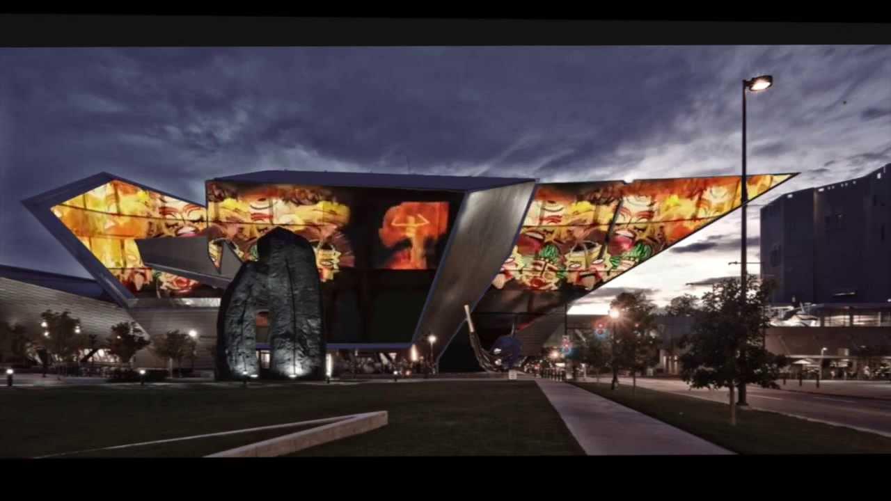 Concept denver art museum with exterior video walls for Denver art museum concept