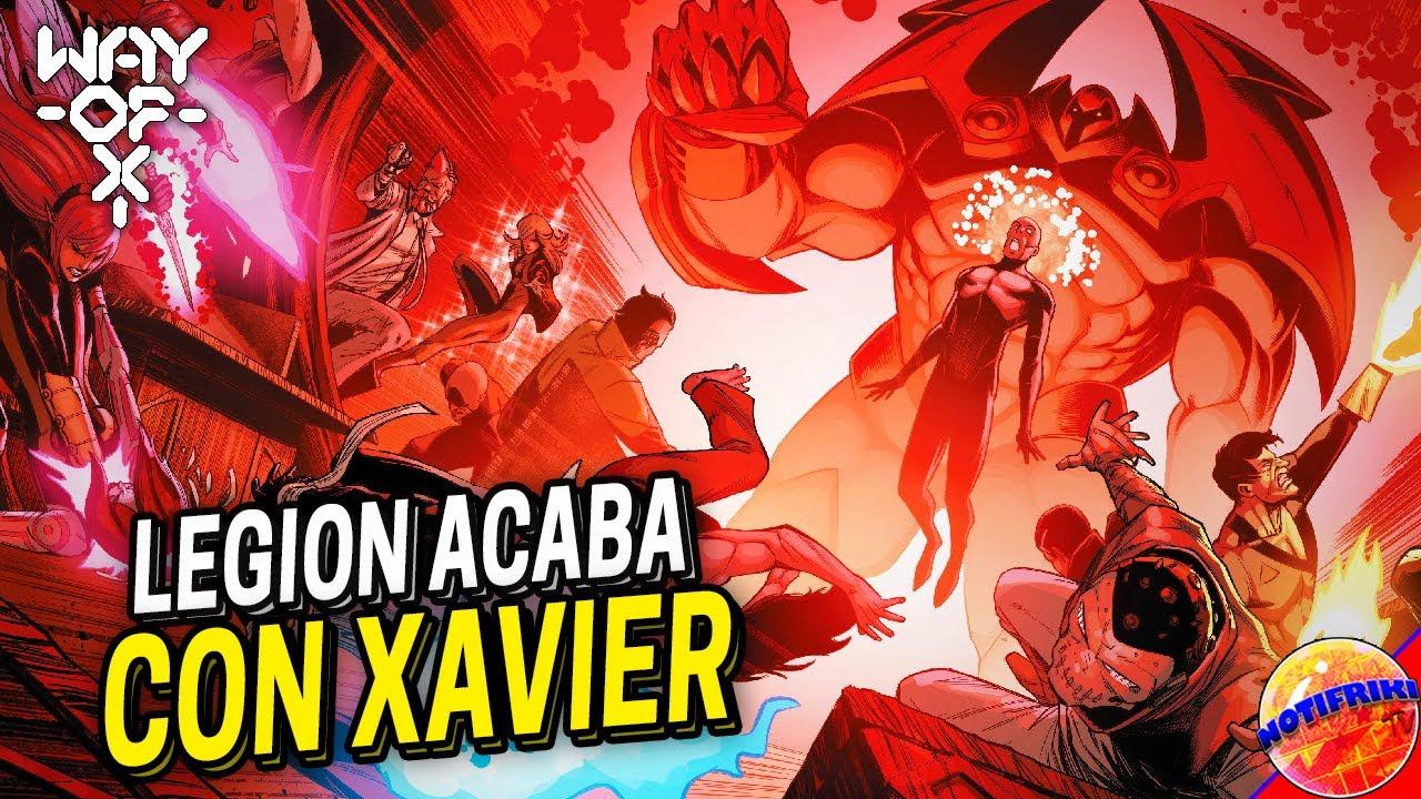 Legión Acaba Con Xavier / Onslaught !!!    Way of X #4