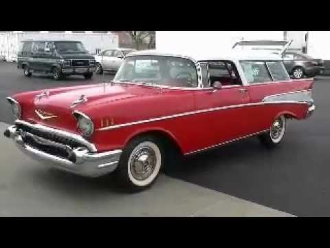 Ray Skillman Chevy >> RAY SKILLMAN 1957 CHEVROLET NOMAD FOR SALE - YouTube