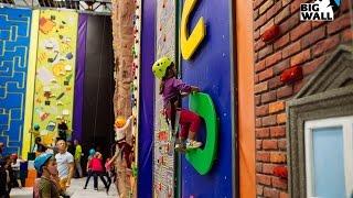 Уникальный детский скалодром FunWall Club в Москве!