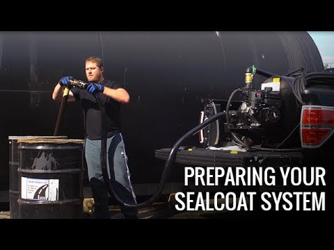 Getting Your Asphalt Sealcoating Machine Ready | Tools & Equipment | How To | Asphalt Kingdom