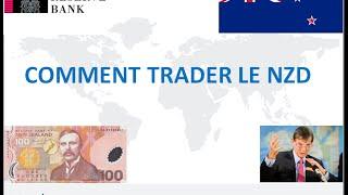 Formation Trading - Forex:  Apprendre à trader le dollar néo-zélandais sur le Forex