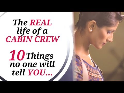 Real Life of Cabin Crew / Flight Attendant / Singapore Airlines