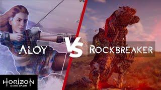 Horizon Zero Dawn:- Aloy V/s Rockbreaker