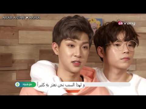 A.cian - Pops in Seoul Q&A [Arabic Sub]