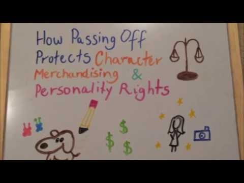 Passing Off, Character Merchandising & Personality Rights (FInal)
