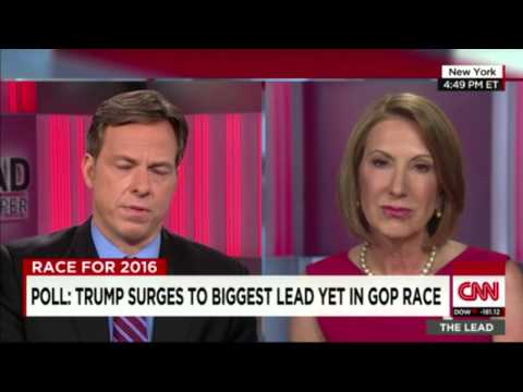 Carly Fiorina interview by Jake Tapper for CNN's The Lead