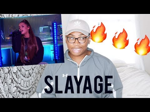 Ariana Grande - R.E.M & God Is A Woman in the Live Lounge | REACTION