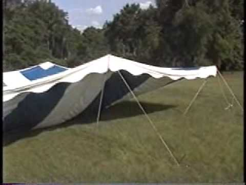 **40X40 Revival Tent QUIK SETUP (407-579-7187) Revival Tents For Sale!!** - YouTube & 40X40 Revival Tent QUIK SETUP (407-579-7187) Revival Tents For ...