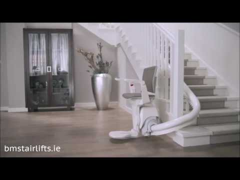 Otolifts Curved Stairlifts at BM Stairlifts Ireland