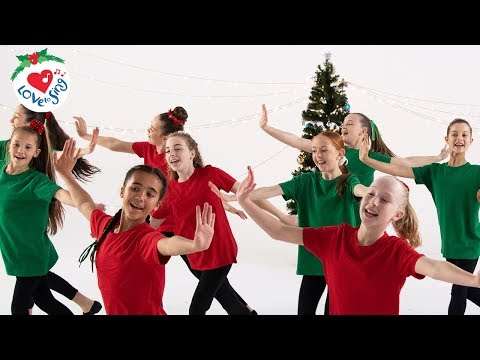 Best Christmas Dance Songs For Kids with Easy Choreography Moves | Christmas Dance Crew