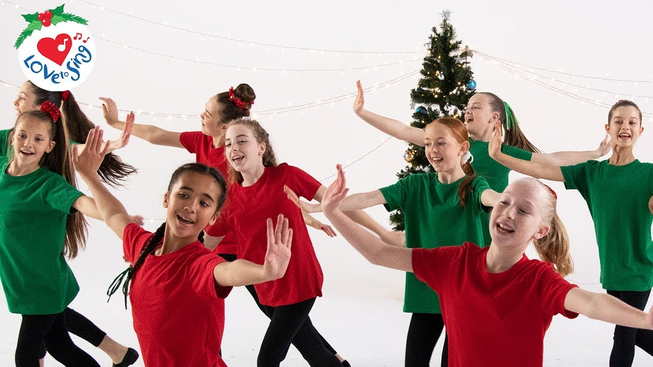 Kids Christmas.Best Christmas Dance Songs For Kids With Easy Choreography Moves Christmas Dance Crew