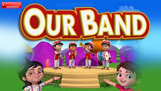 Listen To Our Big Drum Nursery Rhyme for Children