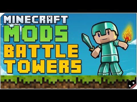 Minecraft Mods 35 - Battle Towers (1.6.4 / 1.7.2) Cuidado que explota!