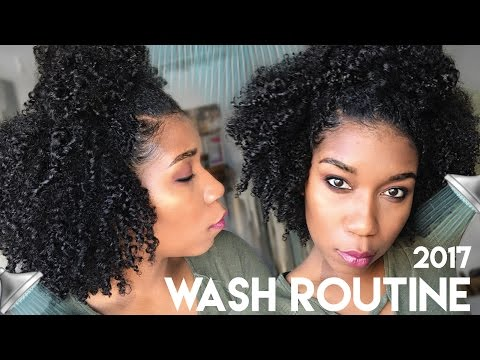 My Simple Wash Day Routine 2017 | Moisturized Natural Hair