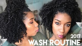 My Simple Wash Day Routine 2017   Moisturized Natural Hair