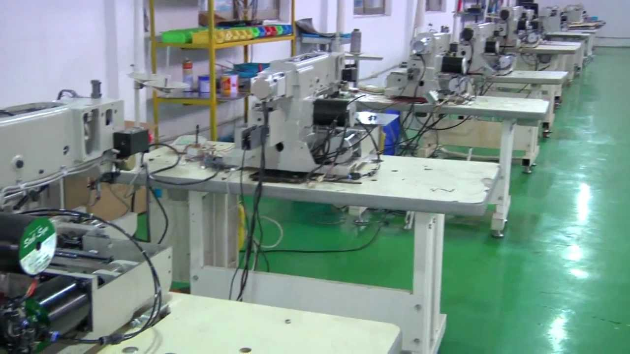China Industrial Sewing Machine Manufacturer Youtube