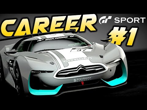 Gran Turismo Sport Career Part 1: COMPLETE STAGE ONE MISSION WALKTHROUGH