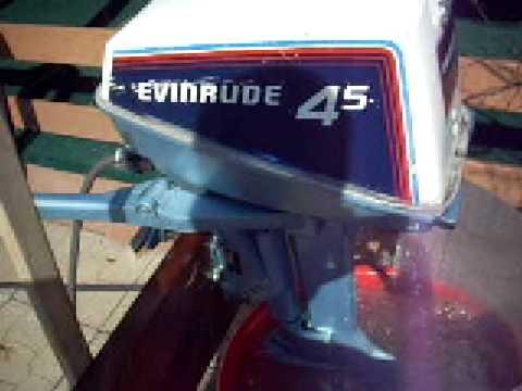 1981 Evinrude 45hp Outboard