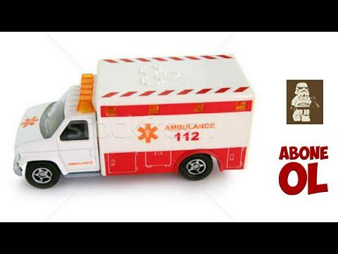sesli ışıklı ambulans tanıtımı