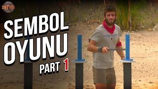 Sembol Oyunu 1. Part   34. Bölüm   Survivor Türkiye - Yunanistan