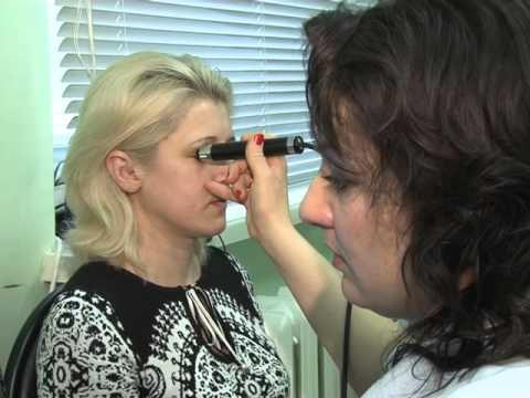Узи глаза как делается видео