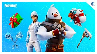 New CHRISTMAS UPDATE in Fortnite! (Season 5)