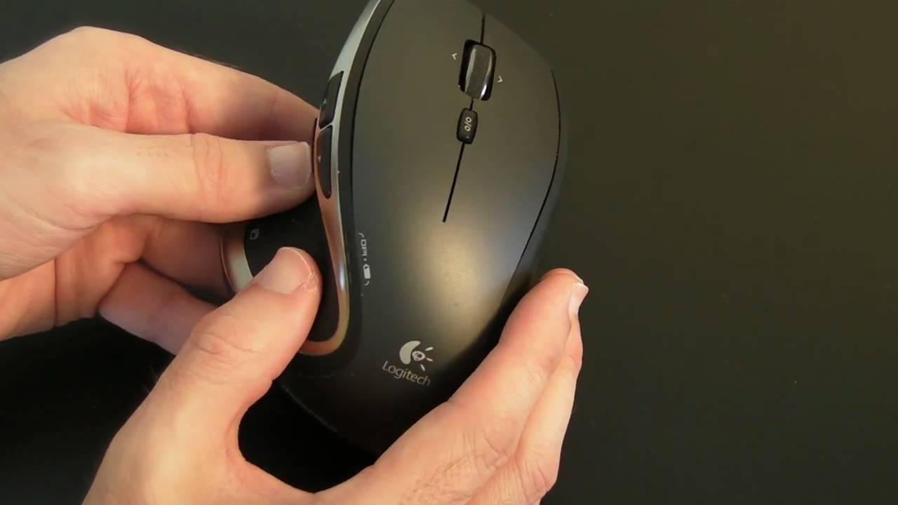 7fad3f04f7a Logitech Performance Mouse MX Review - YouTube