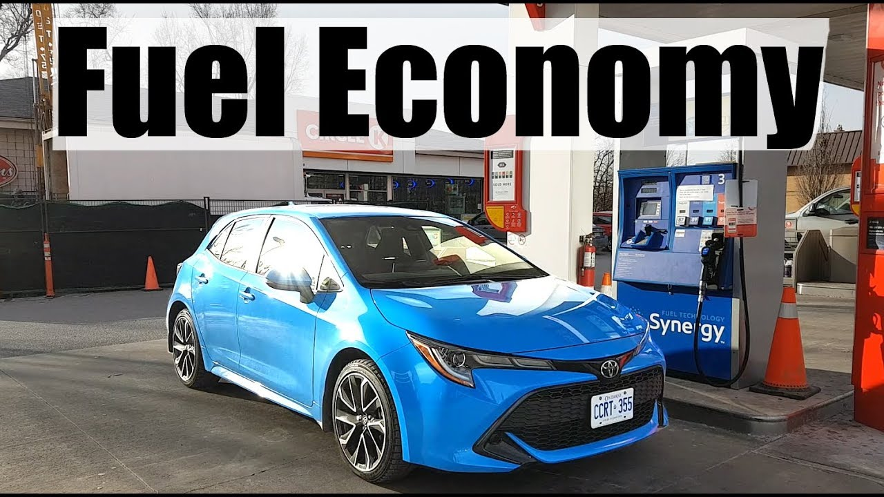 Toyota Corolla Mpg >> 2019 Toyota Corolla Fuel Economy Mpg Review Fill Up Costs