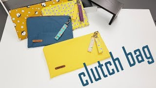 diy zipper clutch bag  클러치백 만들…