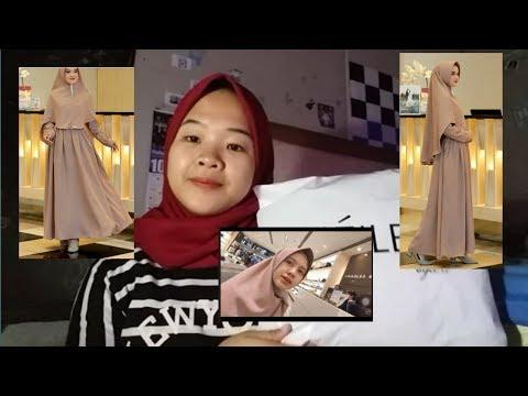 Clothing Haul Gamis Yang Pernah Dipakai Kak Adinda Amira || Dj.sepya Anggraini  #gamislebaran