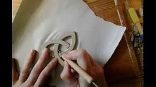 Triquetra Porcelain Chrismon