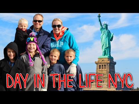 24 Hours with 5 Kids in New York