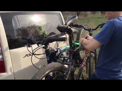 Крепление для перевозки велосипедов на фаркоп Mont Blanc Tow Quick, Tow Ball Mounted 2 Bike Carrier