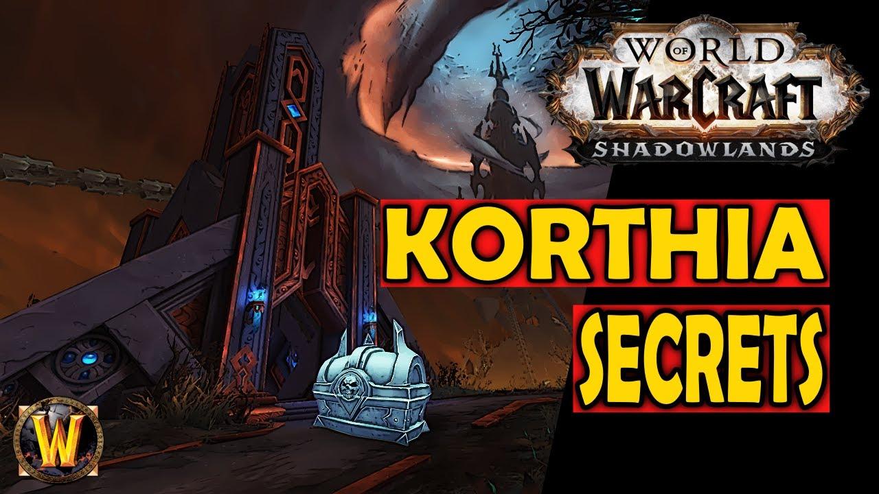 Korthia Secrets - The Unknown Side of WoW