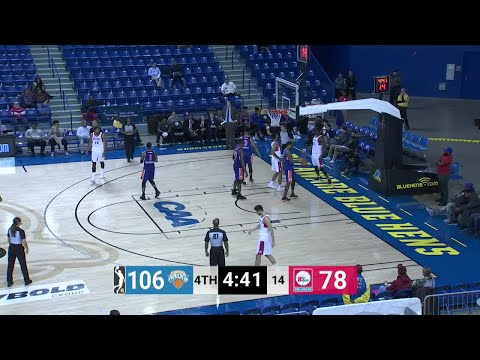 Emeka Okafor Posts 17 points & 11 rebounds vs. Westchester Knicks