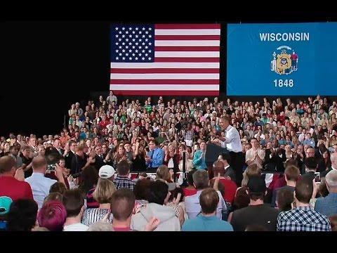 The President Speaks on the Economy in La Crosse, Wisconsin