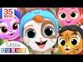 We Are Doing The Animal Dance | Face Paint Song | Little Angel Kids Songs
