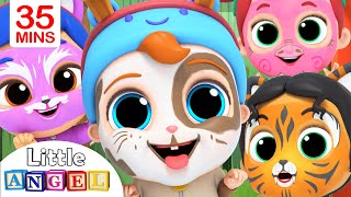 Download We Are Doing The Animal Dance | Face Paint Song | Little Angel Kids Songs Mp3 and Videos