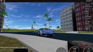 [Weather] DRIVE-SHAFT [Alpha](roblox):Lamborghini aventador drive.