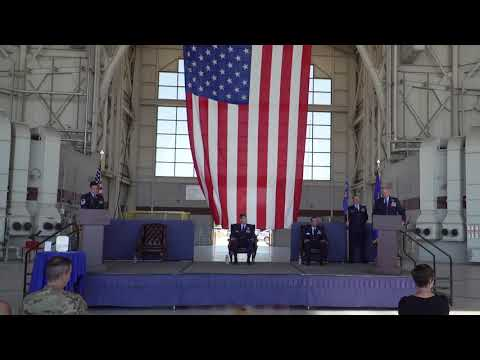 60th Operations Support Squadron Change of Command 2020
