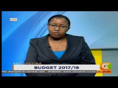 Experts analyzing Budget 2017/18 on #CitizenExtra