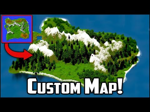 Minecraft Worldpainter Timelapse + DOWNLOAD: Medieval Terrain Map!