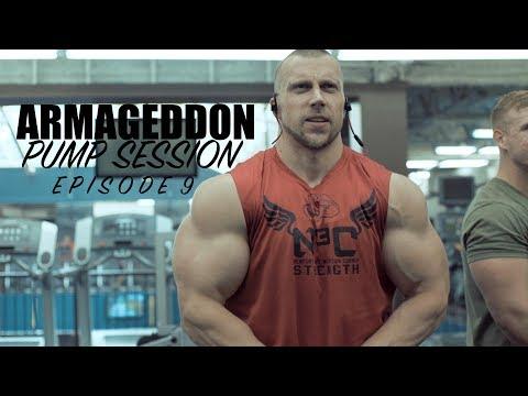 PUMP SESSION-EPISODE 9- Doug Miller In A Tank! ARMageddon!